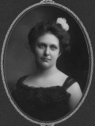 Annie Bell Gilbert, 26 May 1901