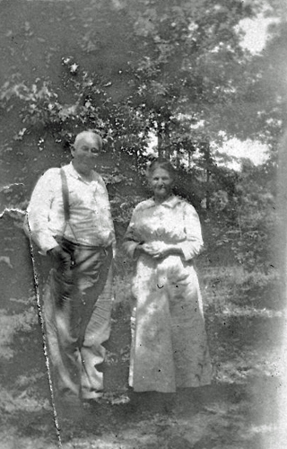 Grandmother Eliza Jones and cousin M. D. Smith